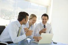Oficiais de executivo empresarial Imagem de Stock Royalty Free