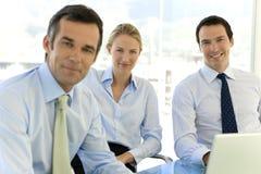 Oficiais de executivo empresarial Foto de Stock Royalty Free