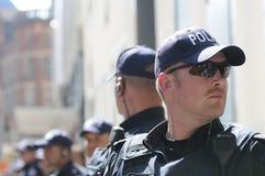 Oficiais de polícia de Toronto. Foto de Stock