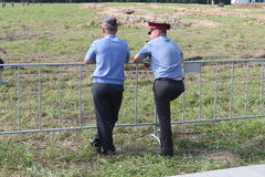 Oficiais de Pollice Imagem de Stock