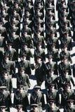 Oficiais do exército da marcha do exército do russo Imagens de Stock Royalty Free