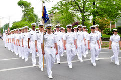 Oficiais navais Imagens de Stock Royalty Free