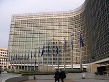 Oficial 5 da Comissão Européia Foto de Stock