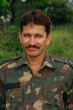 Oficial de ejército hermoso Fotografía de archivo libre de regalías