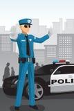 Oficial de polícia Fotografia de Stock