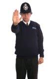 Oficial de polícia - batente Fotos de Stock