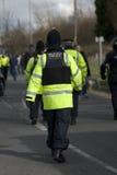 Oficial de polícia britânico fotos de stock