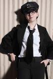 Oficial de polícia fêmea Fotografia de Stock