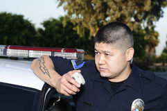 Oficial de polícia Fotos de Stock