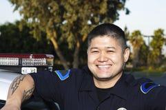 Oficial de policía Imágenes de archivo libres de regalías