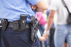Oficial de policía Foto de archivo libre de regalías