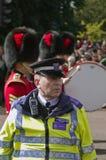 Oficial de policía británico Foto de archivo libre de regalías