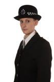Oficial de policía BRITÁNICO de sexo femenino Fotos de archivo