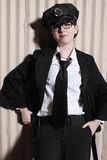 Oficial de policía de sexo femenino Fotografía de archivo