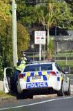Oficial de policía de tráfico Fotos de archivo