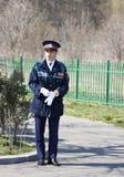 Oficial de policía del estudiante de mujer Fotografía de archivo libre de regalías