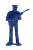 Oficial de policía del juguete Imagen de archivo libre de regalías