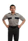 Oficial de prisiones o policía Fotografía de archivo