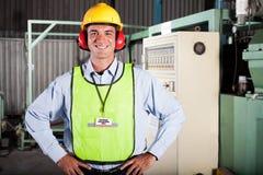 Oficial de saúde e de segurança Imagens de Stock