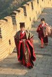 Oficial imperial chinês antigo Fotografia de Stock