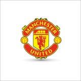 Oficial novo do molde do logotipo do futebol do futebol ilustração do vetor