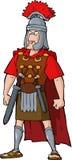 Oficial romano ilustración del vector