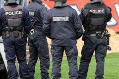 Oficiales de policía Foto de archivo