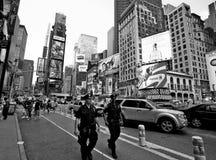 Oficiales de policía de New York City Imagenes de archivo