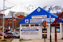 Oficina antártica Imágenes de archivo libres de regalías