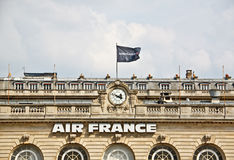 Oficina central de Air France Imagen de archivo libre de regalías