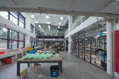 Oficina cerâmica Fotos de Stock
