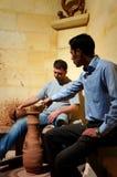 Oficina cerâmica em Turquia imagens de stock
