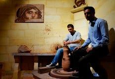 Oficina cerâmica em Turquia foto de stock royalty free