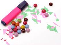 Oficina colorida Foto de archivo libre de regalías