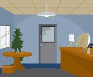 Oficina corporativa ilustración del vector