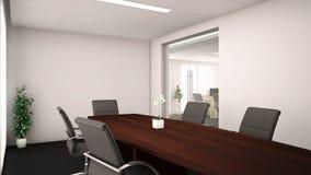 oficina 3d Fotos de archivo