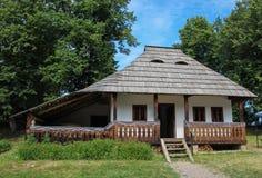 Oficina da cerâmica de Marginea no museu da vila de Sueava Fotografia de Stock