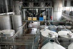 Oficina da fermentação do vinho Imagens de Stock Royalty Free