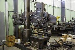 Oficina de construção mecânica Foto de Stock Royalty Free
