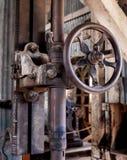 Oficina de construção mecânica, Bodie California Imagem de Stock