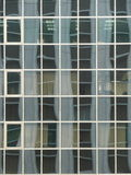Oficina de cristal Windows y reflexiones Fotos de archivo libres de regalías