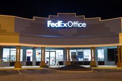 Oficina de Fedex Imagenes de archivo