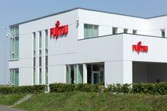 Oficina de Fujitsu en Aarhus, Dinamarca Foto de archivo
