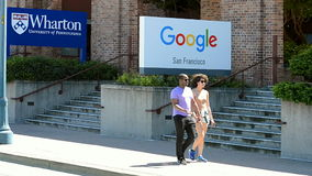 Oficina de Google en San Francisco, los E.E.U.U.,