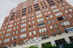 Oficina de Google Nueva York Foto de archivo libre de regalías