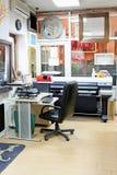 Oficina de impresión Fotos de archivo libres de regalías