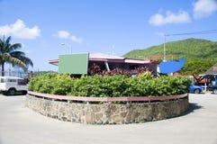 Oficina de la asociación del turismo de Bequia Fotografía de archivo libre de regalías
