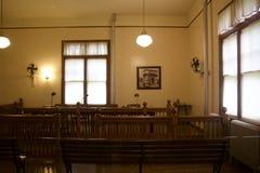Oficina de la estación de la inmigración de Nueva York - de Ellis Island Foto de archivo