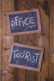 Oficina de la información turística Foto de archivo libre de regalías