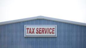Oficina de la preparación del impuesto fotografía de archivo libre de regalías